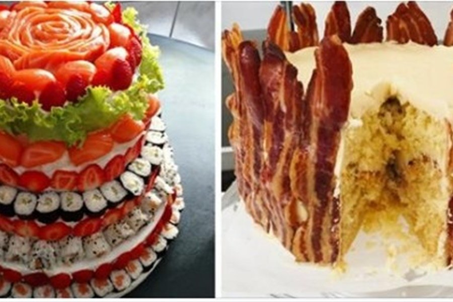 Thirteen wedding cake alternatives for couples who prefer savory over sweet