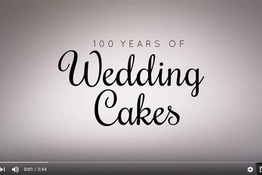 100 Years of Wedding Cakes